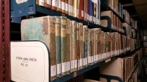 La biblioteca de La Civiltà Cattolica