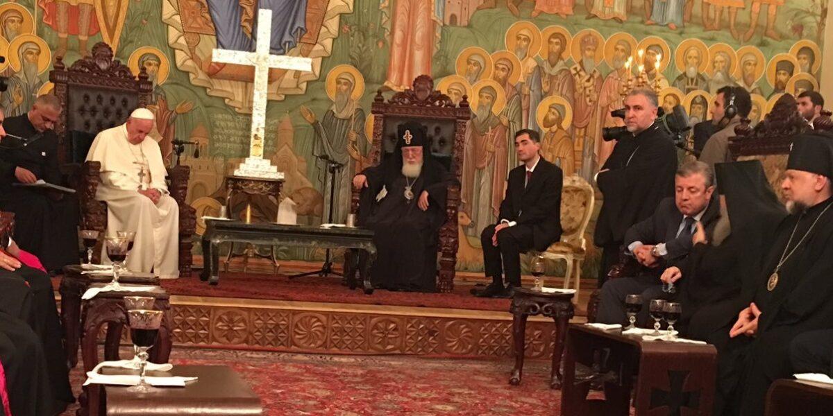 PAPA FRANCESCO IN GEORGIA E AZERBAIGIAN