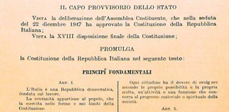 IL VATICANO, I CATTOLICI E LA COSTITUZIONE REPUBBLICANA DEL 1946