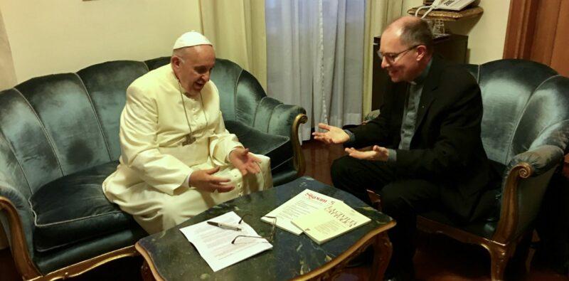 INTERVISTA A PAPA FRANCESCO. In occasione del viaggio apostolico in Svezia