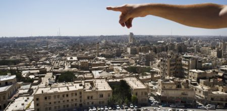 """Il """"martirio"""" di Aleppo"""