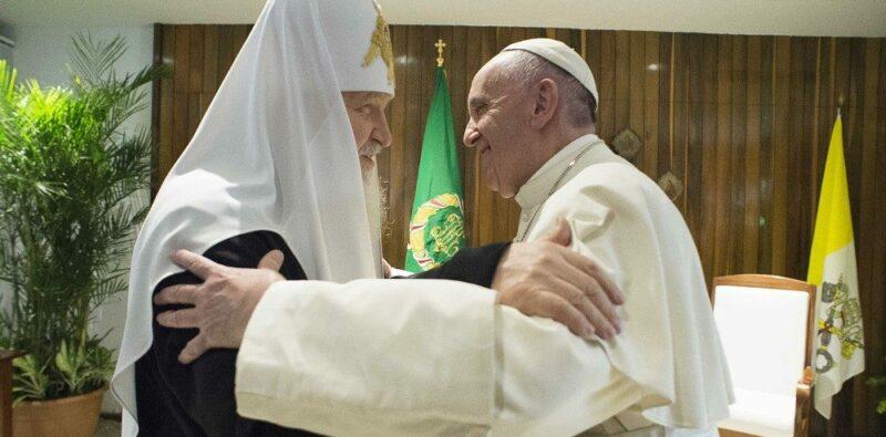 Il primo incontro tra il Vescovo di Roma e il Patriarca di Mosca