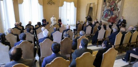 """Discourse of the Holy Father Francis to the community of """"La Civiltà Cattolica"""""""