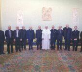 La prima udienza di papa Francesco con il Collegio degli scrittori e i collaboratori della rivista
