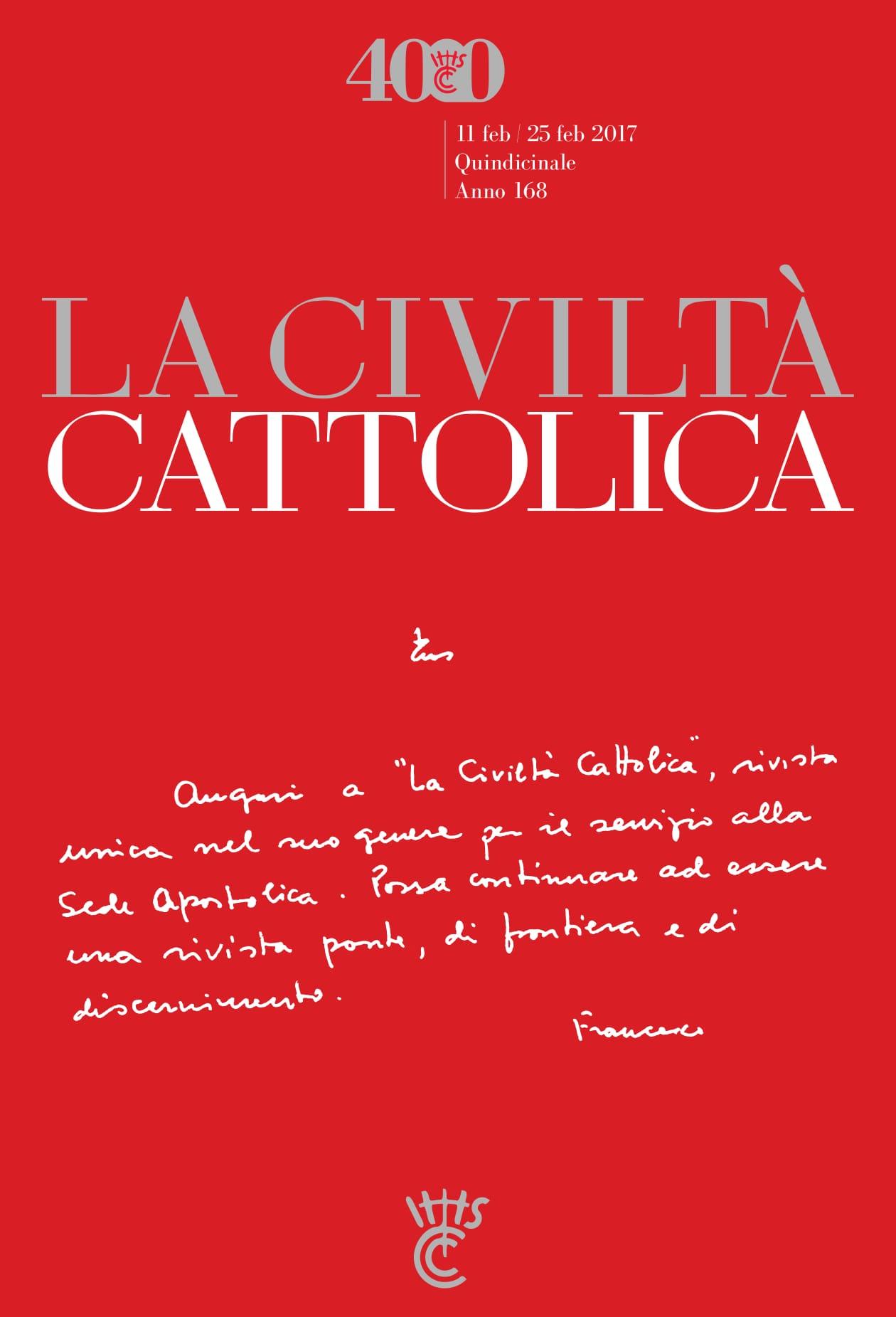 Papa Francesco incontra «La Civiltà Cattolica» in occasione della  pubblicazione del fascicolo 4000 | La Civiltà Cattolica