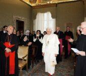 L'Incontro con papa Benedetto XVI nel 2005
