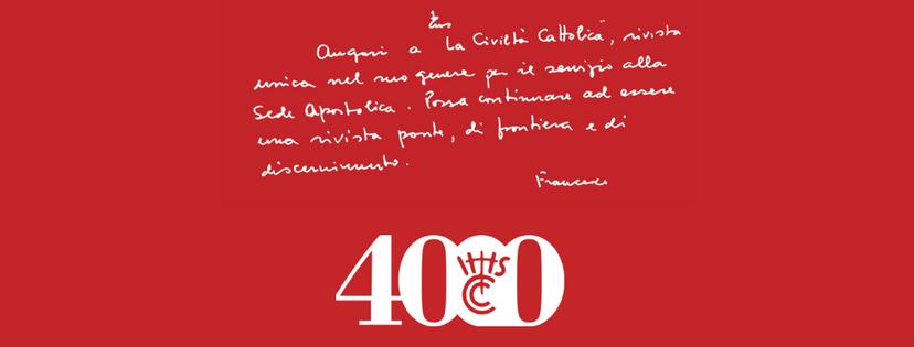Quattromila quaderni de «La Civiltà Cattolica»