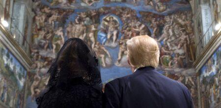 Donald Trump in Vaticano