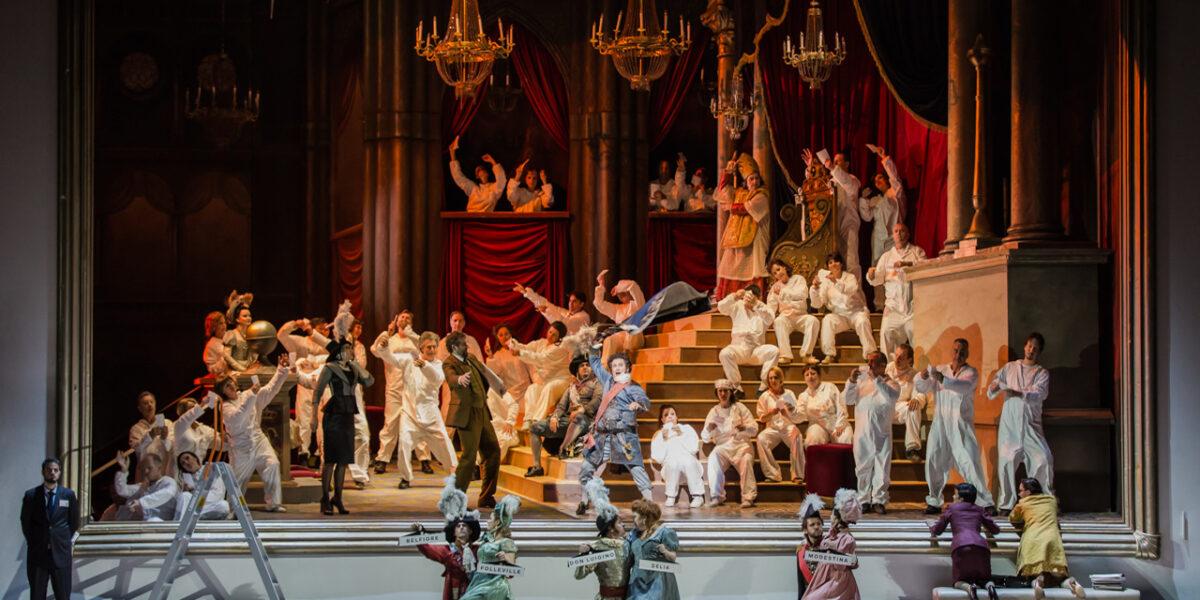 «Il viaggio a Reims» di Rossini al Teatro dell'Opera di Roma