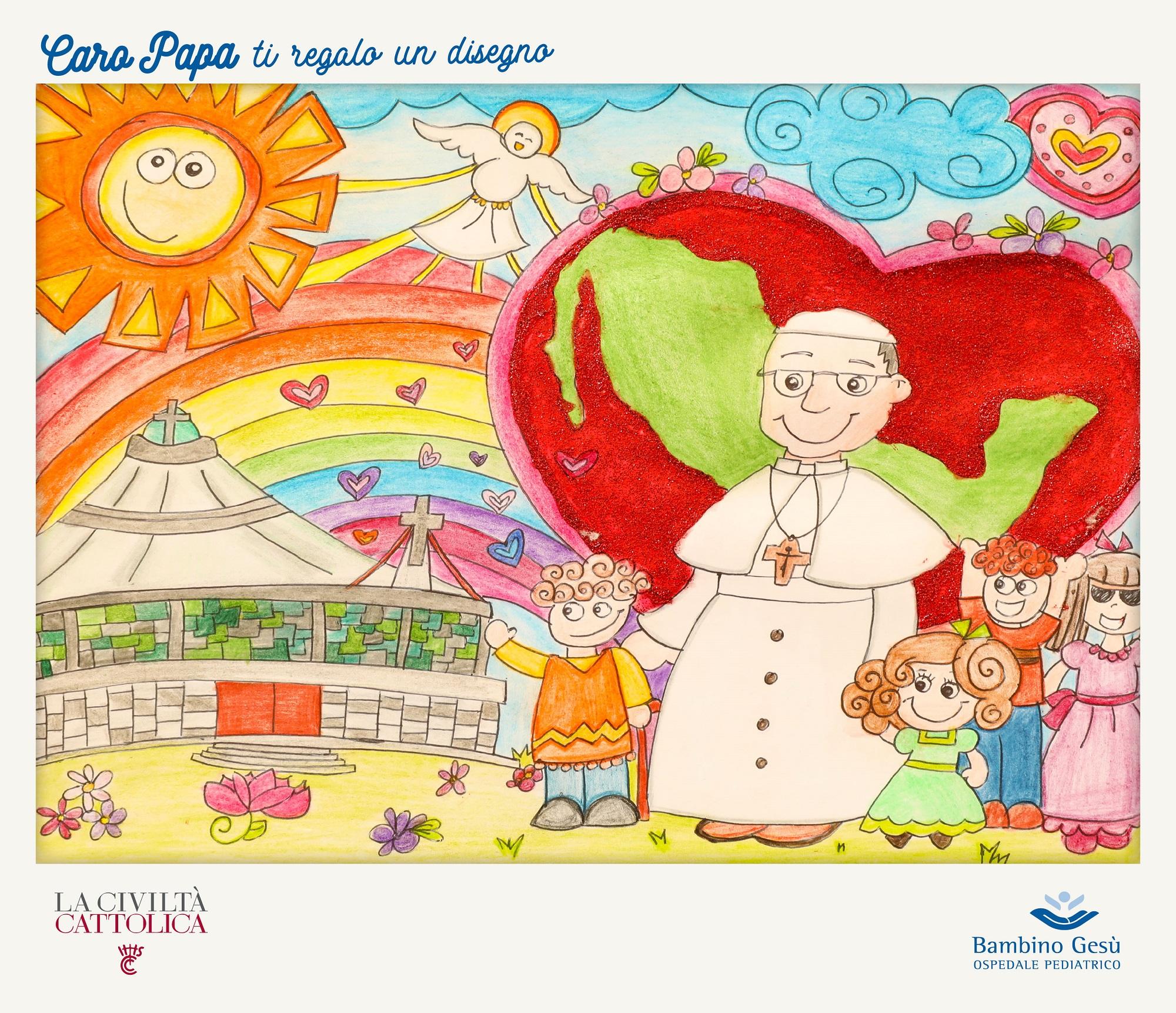 Caro Papa Ti Regalo Un Disegno La Civiltà Cattolica