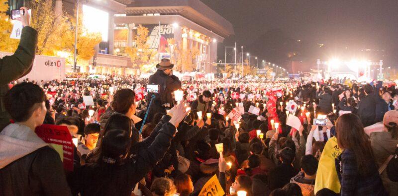 La Corea del Sud dopo la «Rivoluzione delle candele»