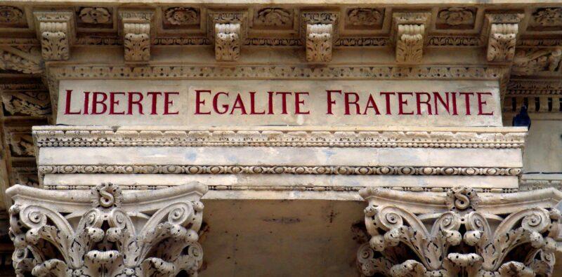 «Libertà, uguaglianza, fraternità»