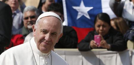 """Papa Francesco """"al popolo di Dio pellegrino in Cile"""""""