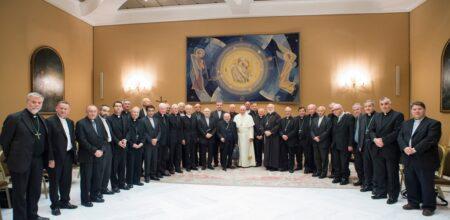 Papa Francesco ai vescovi cileni (15 maggio 2018)