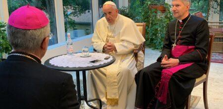 ''Eu acredito que o Senhor está pedindo uma mudança na Igreja.''