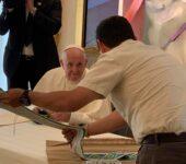Papa Francesco con i gesuiti del Centro America (foto: Antonio Spadaro)