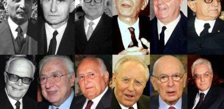 I presidenti della Repubblica