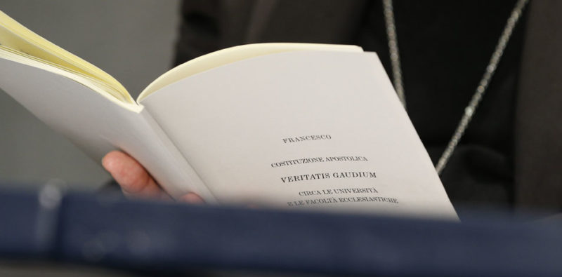 «Veritatis gaudium» e rinnovamento degli studi ecclesiastici