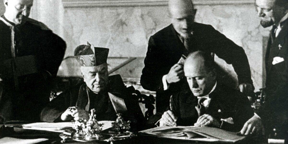 Mussolini, ateo devoto