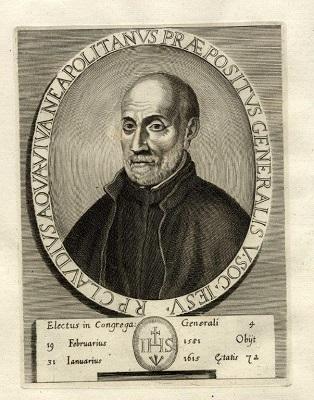 Padre Claudio Acquaviva S.J.