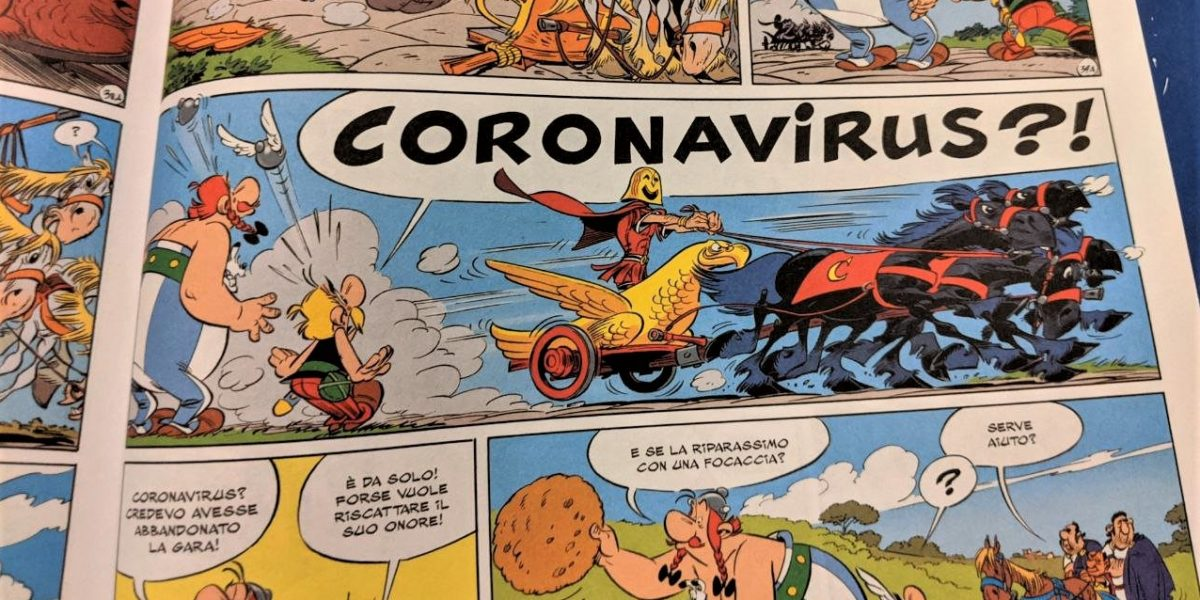 «Asterix» in lutto
