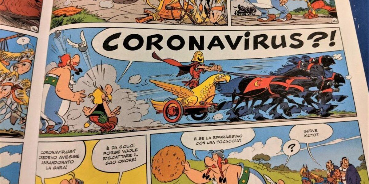«Asterix» in lutto