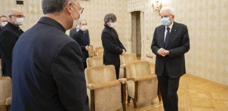 Il Presidente Mattarella ha ricevuto gli scrittori de «La Civiltà Cattolica»