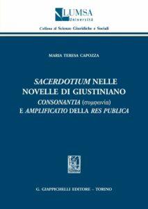 """Sacerdotium"" nelle Novelle di Giustiniano"