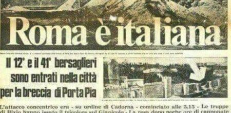 La «festa nazionale» della presa di Roma e la sua abolizione