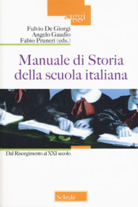 Manuale di Storia della scuola italiana