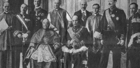 Mussolini, il cosiddetto «uomo della provvidenza»