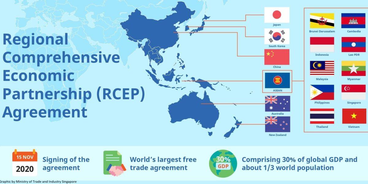 Nasce in Asia la più grande area al mondo di libero scambio commerciale