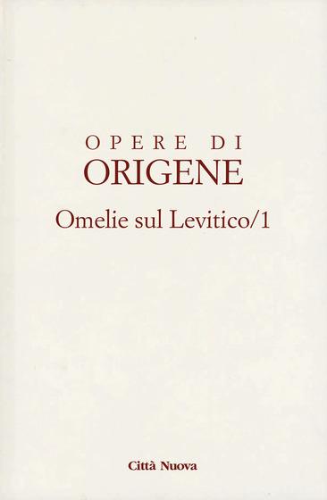 Omelie sul Levitico I-VII