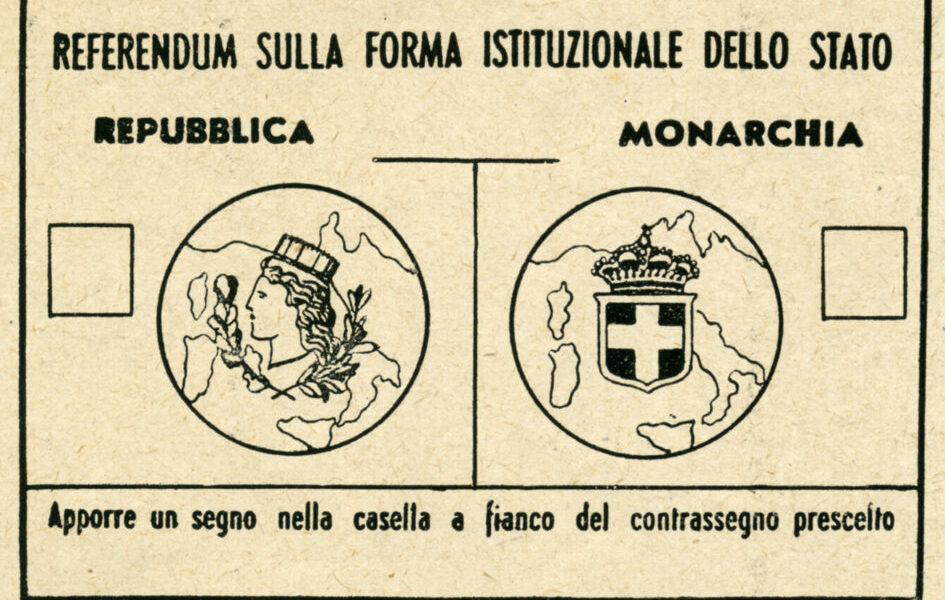 Il 75° anniversario del Referendum istituzionale